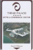 GREECE - Thraki Palace, Hotel Keycard, Sample - Cartes D'hotel