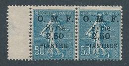 DI-87: SYRIE: Lot Avec N°87a* Tenant à Normal (sans S à Piastres) - Syrie (1919-1945)