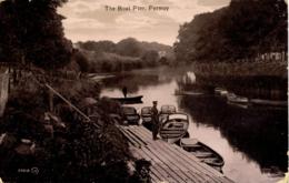 IRELAND - CORK - FERMOY - THE BOAT PIER 1914 (Soldier) I-Ck-556 - Cork