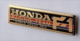 V131 Pin's Logo Racing Team HONDA F1 FORMULE 1 Achat Immédiat - Honda