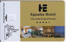 GREECE - Egnatia, Hotel Keycard, Sample(no Chip) - Hotelsleutels (kaarten)