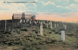The Custer Battlefield As It Is Today , 00-10s ; Little Big Horn - Native Americans