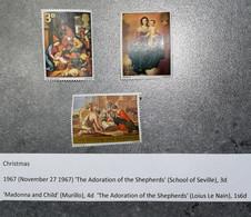 GB   STAMPS PAINTINGS Shepherds  1967  Set      MNH   ~~L@@K~~ - 1952-.... (Elizabeth II)