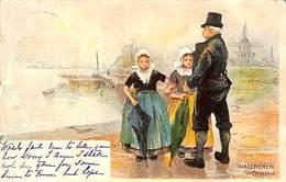 Walcheren - H Cassiers (1900) Holland - Autres Illustrateurs