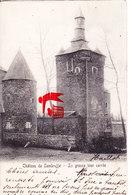 Château De SOMBREFFE - La Grosse Tour Carrée -carte Circulée En 1904 - Sombreffe
