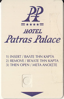 GREECE - Patras Palace(reverse Athens 2004 Olympics Gold Visa), Hotel Keycard, Sample(no Chip) - Cartes D'hotel