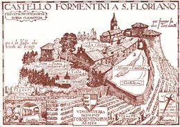 5089 - SAN FLORIANO DEL COLLIO - CASTELLO (P. Caccia Dominioni) - Italia