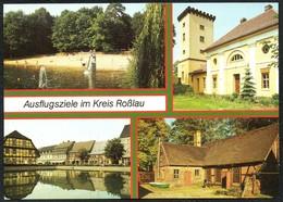 D2734 - TOP Roßlau Coswig Thießen - Bild Und Heimat Reichenbach - Rosslau