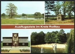 D2727 - TOP Roßlau Cobbelsdorf Griebo Waldbad - Bild Und Heimat Reichenbach - Rosslau