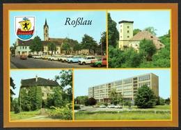 D2726 - TOP Roßlau Ernst Thälmann Schule Burg Markt - Bild Und Heimat Reichenbach - Rosslau