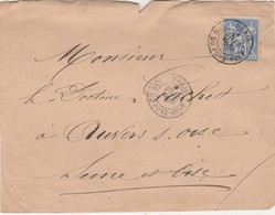 Devant D'enveloppe 14 Mars 1877 / Pour  Docteur Gachet / Auvers Sur Oise / Peintre Van Gogh ? - Autographes