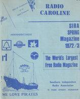 Large Bundle Of Radio Caroline Fanzines Pirate Radio Magazines Etc - Amusement