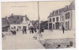 Finistère - Ile-Tudy - Place De La Cale - Ile Tudy