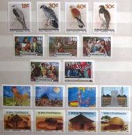 BOPHUTHATSWANA                Timbres 1989           N° 214/230               NEUF** - Bophuthatswana