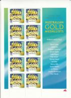 Australia 2000 MNH Sc 1884 45c Women's Water Polo Sheet Of 10 Melbourne Print - 2000-09 Elizabeth II