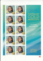 Australia 2000 MNH Sc 1886 45c Cathy Freeman Sheet Of 10 Melbourne Print - 2000-09 Elizabeth II