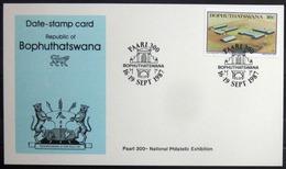 "BOPHUTHATSWANA                Carte Commémorative   "" PAARL 300 "" - Bophuthatswana"