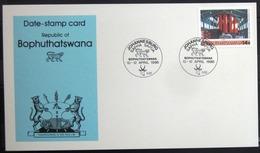 "BOPHUTHATSWANA                Carte Commémorative   "" SAFHA SAPDA 86 "" - Bophuthatswana"