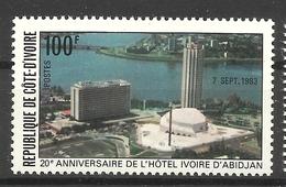 IVORY COAST COTE D' IVOIRE 1983  20tH ANIV.OF IVORY HOTEL  MNH - Ivory Coast (1960-...)