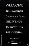 PRODUTTORI  KEY HOTEL  Welcome - Willkommen - Céad Mile Fáilte - Hotelsleutels (kaarten)