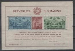 San Marino 1945 - Palazzo Del Governo Bf **          (g6358) - Ongebruikt