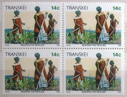 TRANSKEI              Timbres De 1986           N° 184 X 4                    NEUF** - Transkei