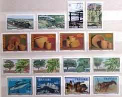 TRANSKEI              Timbres De 1989           N° 230/245                    NEUF** - Transkei