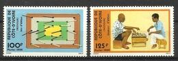 IVORY COAST COTE D' IVOIRE 1984  EKLAN GAME MNH - Ivory Coast (1960-...)