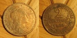 Dupuis - 2 Centimes 1908 - B. 2 Centimes
