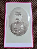 CDV Militaire Du 102 ème Régiment D'infanterie - Médaille - Dos Muet - Circa 1880 - TBE - - War, Military