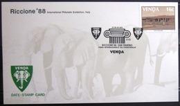 """VENDA              CARTE COMMEMORATIVE  """" RICCIONE 88 """" - Venda"""