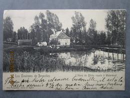 CPA Belgique - Environs De Bruxelles - L'étang De Pêche Royale à WATERMAEL BOITSFORD écrite & Timbrée 1922 - Watermael-Boitsfort - Watermaal-Bosvoorde
