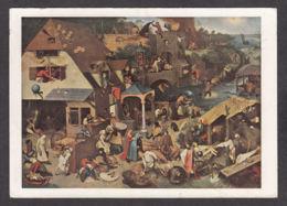 PB180/ Pieter BRUEGHEL, *Les Proverbes Flamands*, Berlin, Gemäldegalerie - Peintures & Tableaux