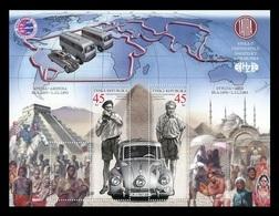 Czech Republic 2019 Mih. 1017/18 (Bl.76) Travelers Jiri Hanzelka And Miroslav Zikmund. Automobiles MNH ** - Nuevos
