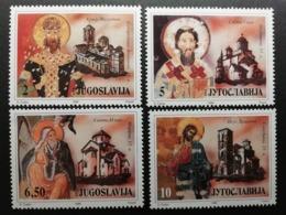 Yougoslavie 1990 / ** / Y&T N°2319-2322 - Ungebraucht