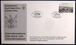 "SWAZILAND                       Carte Commémorative  "" CYPRINUS CARPIO 87 - Swaziland (1968-...)"