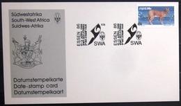 "SWAZILAND                       Carte Commémorative  "" ESSEN 86 "" - Swaziland (1968-...)"