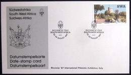 "SWAZILAND                       Carte Commémorative  "" RICCIONE 87 "" - Swaziland (1968-...)"