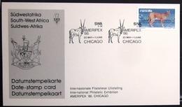 "SWAZILAND                       Carte Commémorative  "" AMERIPEX 86 "" - Swaziland (1968-...)"