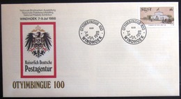 "SWAZILAND                       Carte Commémorative  "" OTYIMBINGUE 100 "" - Swaziland (1968-...)"