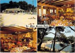 """83 - SAINT MANDRIER SUR MER : Bar Tabac Restaurant """" LE MAS SAINTE ASILE """" Les Marégaux - CPSM CPM GF - Var - Saint-Mandrier-sur-Mer"""