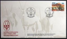 "SWAZILAND                       Carte Commémorative  "" SAFHA SAPDA 88 "" - Swaziland (1968-...)"