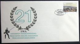 "SWAZILAND                       Carte Commémorative  "" CYPRINUS CARPIO 87 "" - Swaziland (1968-...)"