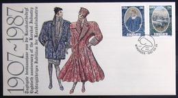 "SWAZILAND                       Carte Commémorative  "" WINDHOEK 87 "" - Swaziland (1968-...)"