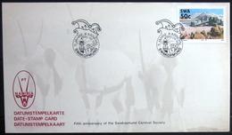 "SWAZILAND                       Carte Commémorative  "" SWAKOPMUND 90 "" - Swaziland (1968-...)"
