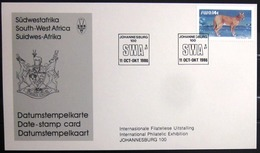 "SWAZILAND                       Carte Commémorative  "" JOHANNESBURG 100 "" - Swaziland (1968-...)"