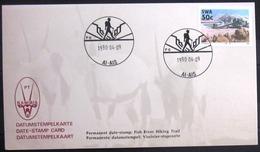 """SWAZILAND                       Carte Commémorative  """" AI - AIS 90 """" - Swaziland (1968-...)"""