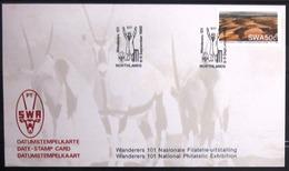 "SWAZILAND                       Carte Commémorative  "" WANDERERS 101 "" - Swaziland (1968-...)"