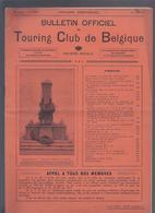 1914 TOURING CLUB DE BELGIQUE * LA CORRIDA * NORVEGE * CONGO * AUTRICHE * LE NAVIRE-ECOLE BELGE - 1900 - 1949