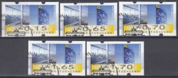 BRD  Automatenmarken 7.1 VS 1, Gestempelt, Post Tower 2008 - BRD